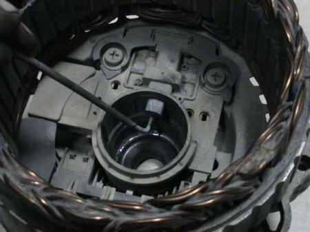 Замена подшипников в генераторе  от Baste